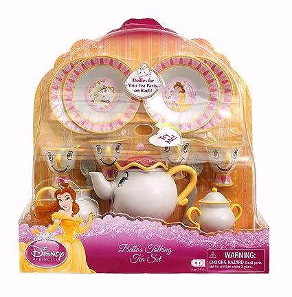 Amazon.com: Disney La Bella y la Bestia Belle Talking Juego ...