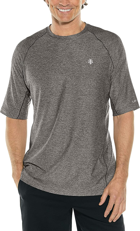 Coolibar UPF 50+ Men's Agility Short Sleeve Performance T-Shirt - Sun Protective