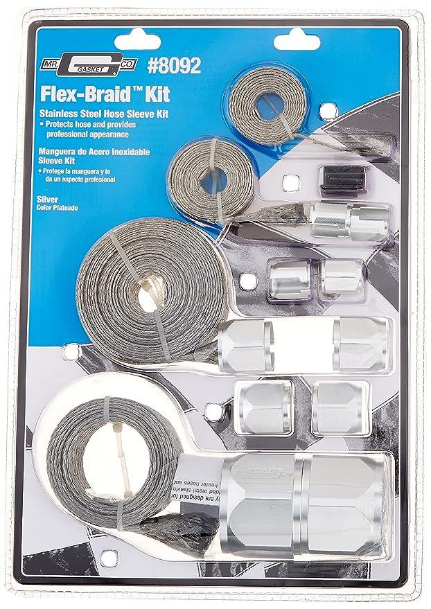 Amazon.com: Mr. Gasket 8092 Flex-Braid Hose Sleeving Kit: Automotive