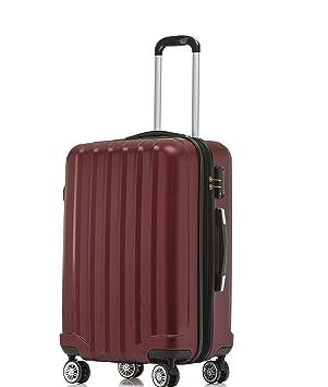 TSA - Candado 2080 Hang epäck ruedas Gemelas nuevo Maleta rígida L XL de m (Board Case) en 12 colores, borgoña, large: Amazon.es: Deportes y aire libre