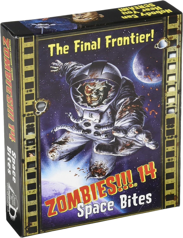 Zombies 14 Space Bites Board Game by Twilight Creations: Amazon.es: Juguetes y juegos