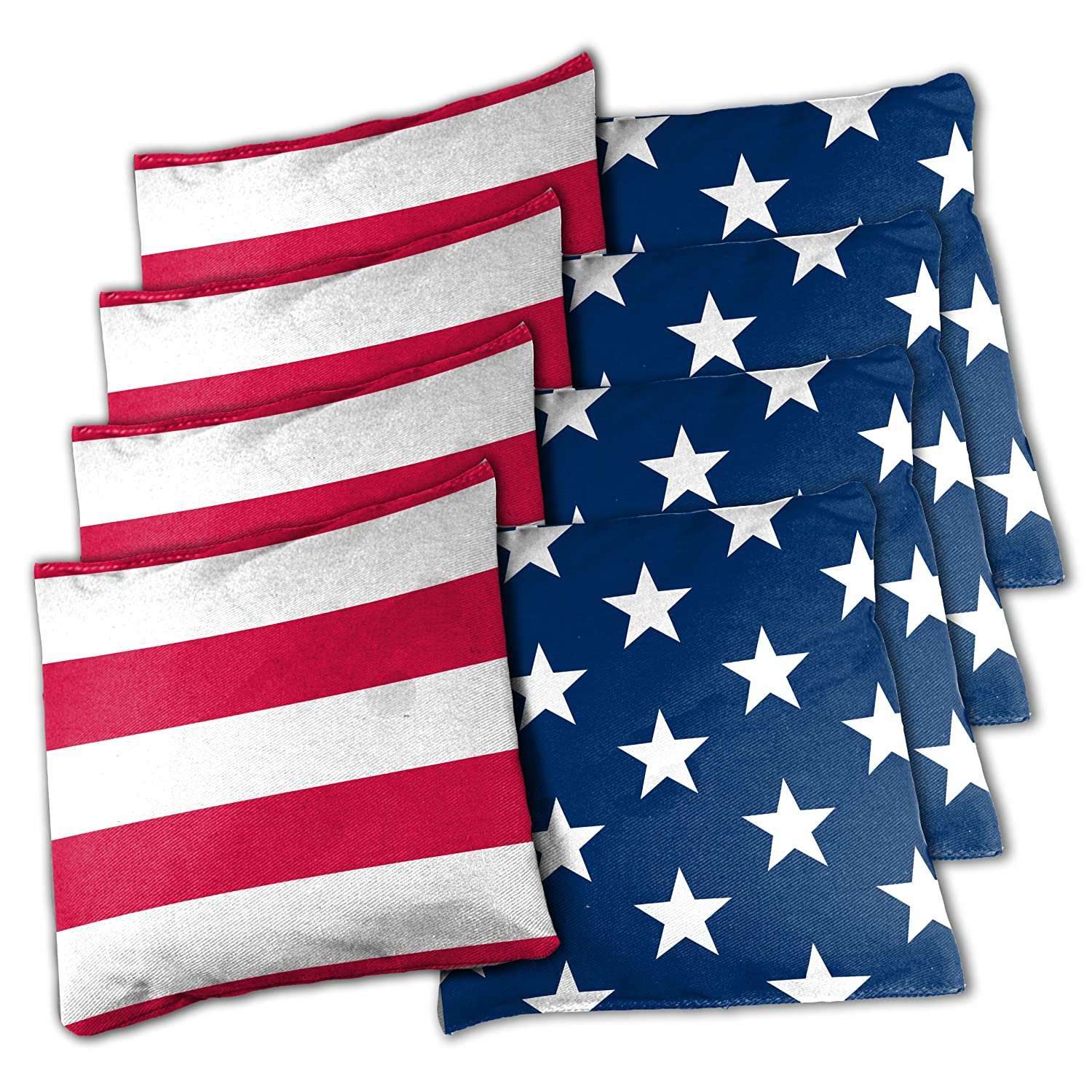 Wild Sports BB-XL-SAS Wild Sports Stars and Stripes Cornhole Bean Bags