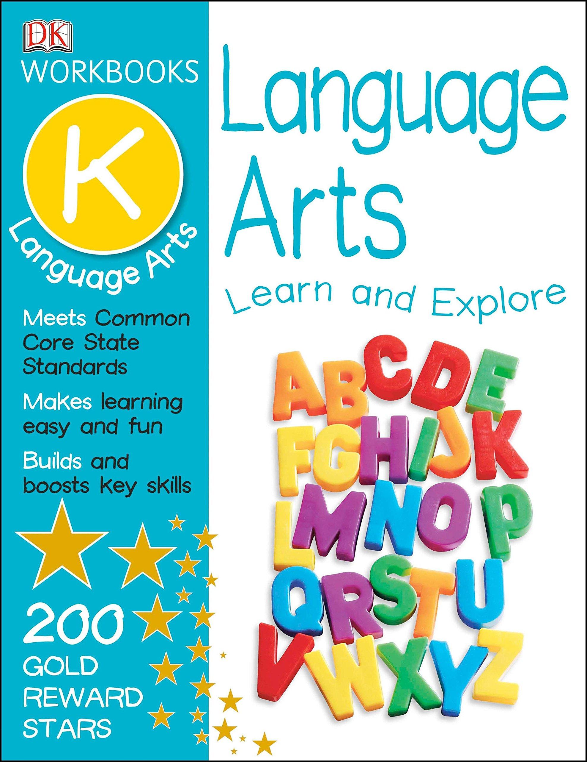 DK Workbooks: Language Arts, Kindergarten: DK: 9781465417374: Amazon ...