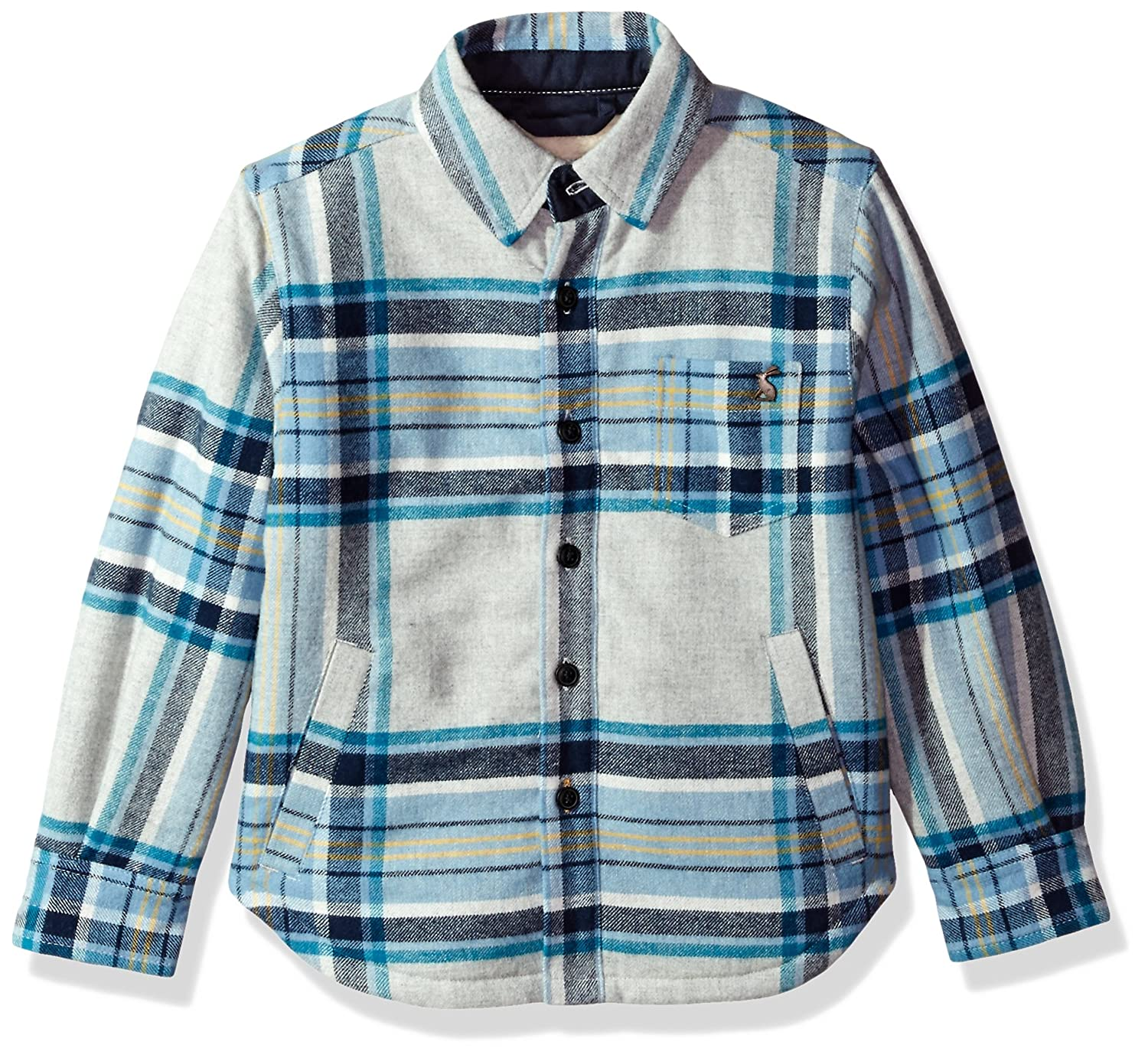 Joules Boys' Ronan Fleece Lined Shirt Jacket X_ODRRONAN