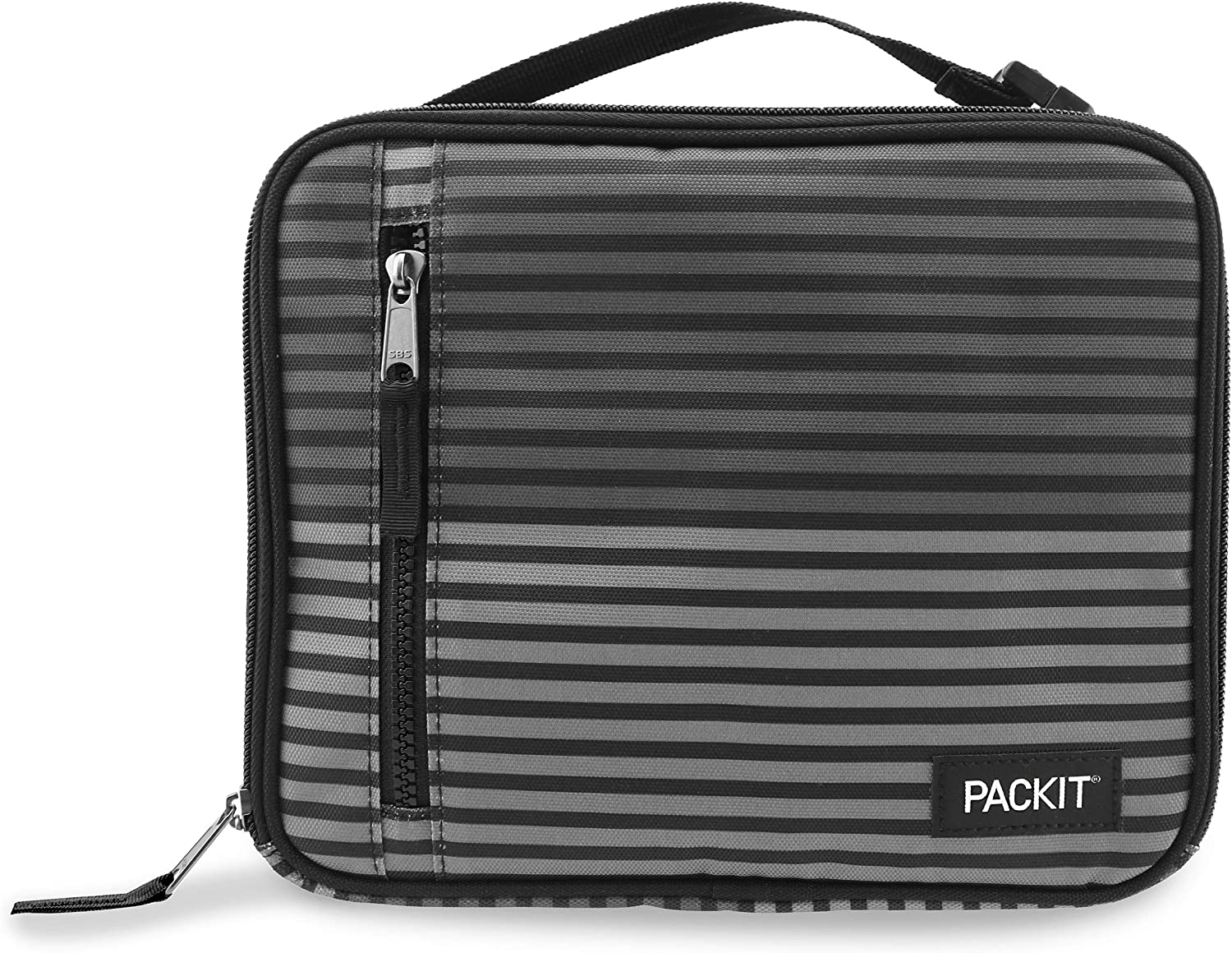 PackIt Freezable Classic Lunch Box, Gray Stripe by PackIt: Amazon.es: Hogar