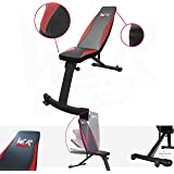 We R Sports FI100 Flat/Incline Weight Bench - Black