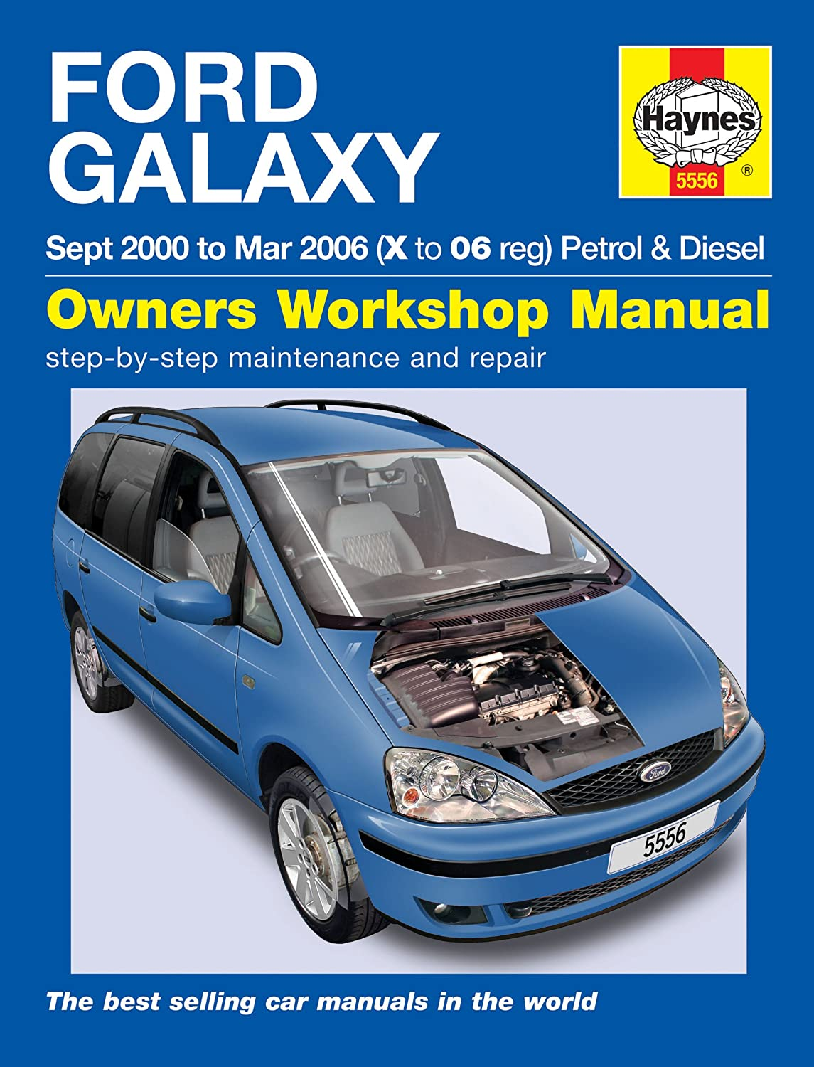 Ford Galaxy Repair Manual Haynes Manual Service Manual Workshop Manual 2000-2006:  Amazon.co.uk: Car & Motorbike