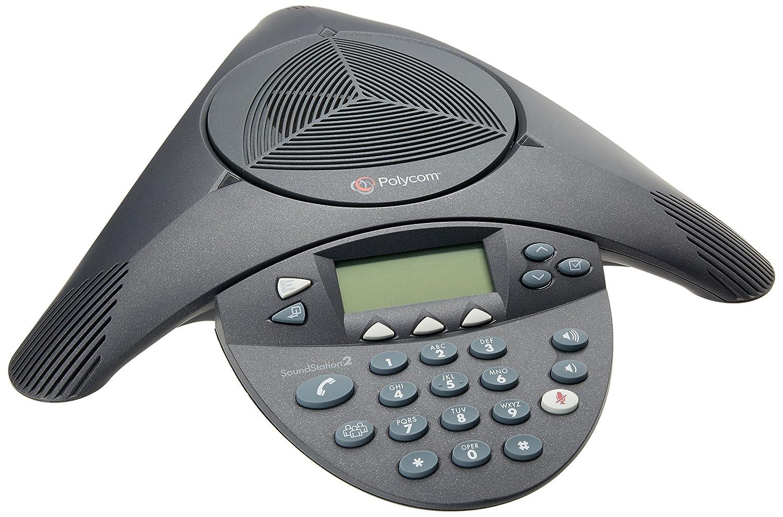 Polycom Soundstation2 Expandable Conference Phone 2200 Telephoneringer Telephonerelatedcircuit Electricalequipment 16200 001 Audio Conferencing Equipment Electronics