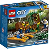 LEGO - 60157 - City - Jeu de Construction - Ensemble de démarrage de la jungle