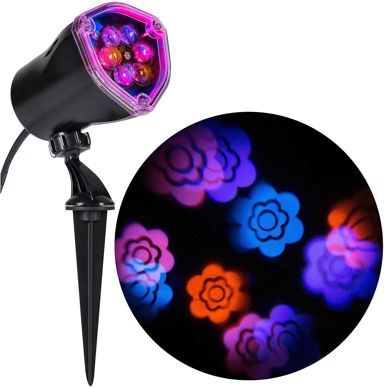 Gemmy Lightshow Projection Flower Pink//Blue//Purple//Yellow