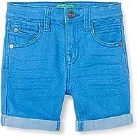 United Colors of Benetton (Z6ERJ) Pantalones Cortos Bebé-Niños