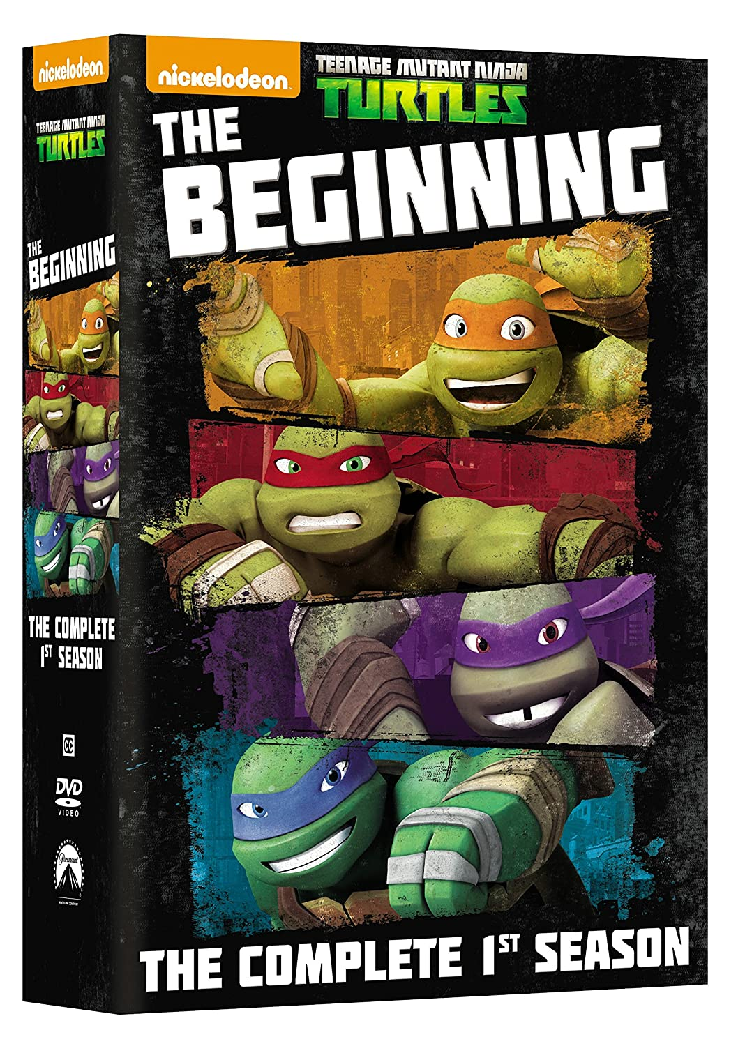 Teenage Mutant Ninja Turtles: Comp First Season 3 Dvd ...