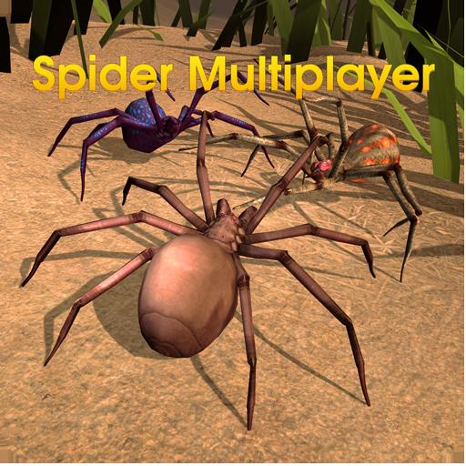 Spider World Multiplayer (Shark Games Online)