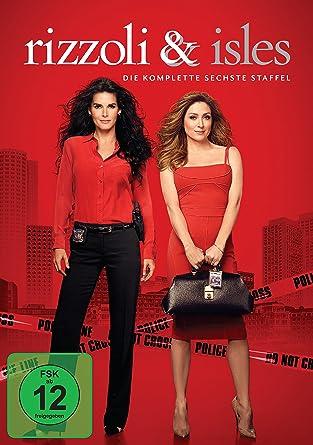 Rizzoli Isles Die Komplette Sechste Staffel 4 Dvds Amazonde