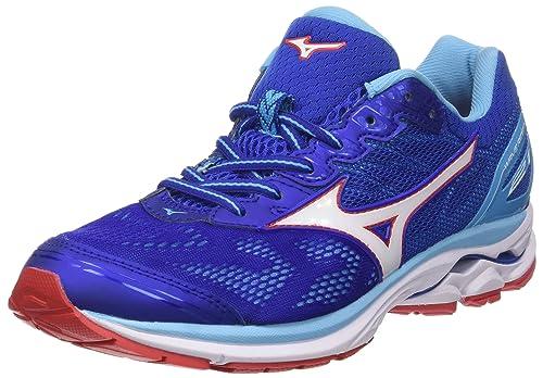 buy popular bd609 d9c08 Mizuno Men's Wave Rider 21 Running Shoes
