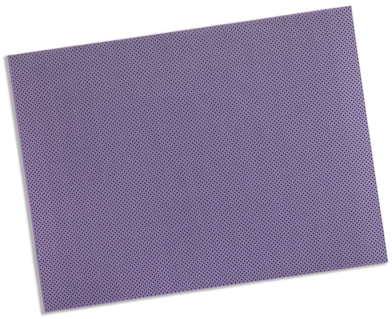 Rolyan Splinting Material Sheet, Aquaplast-T Watercolors, Lavender, 1/8'' x 18'' x 24'', 19% OptiPerf Perforated, Single Sheet