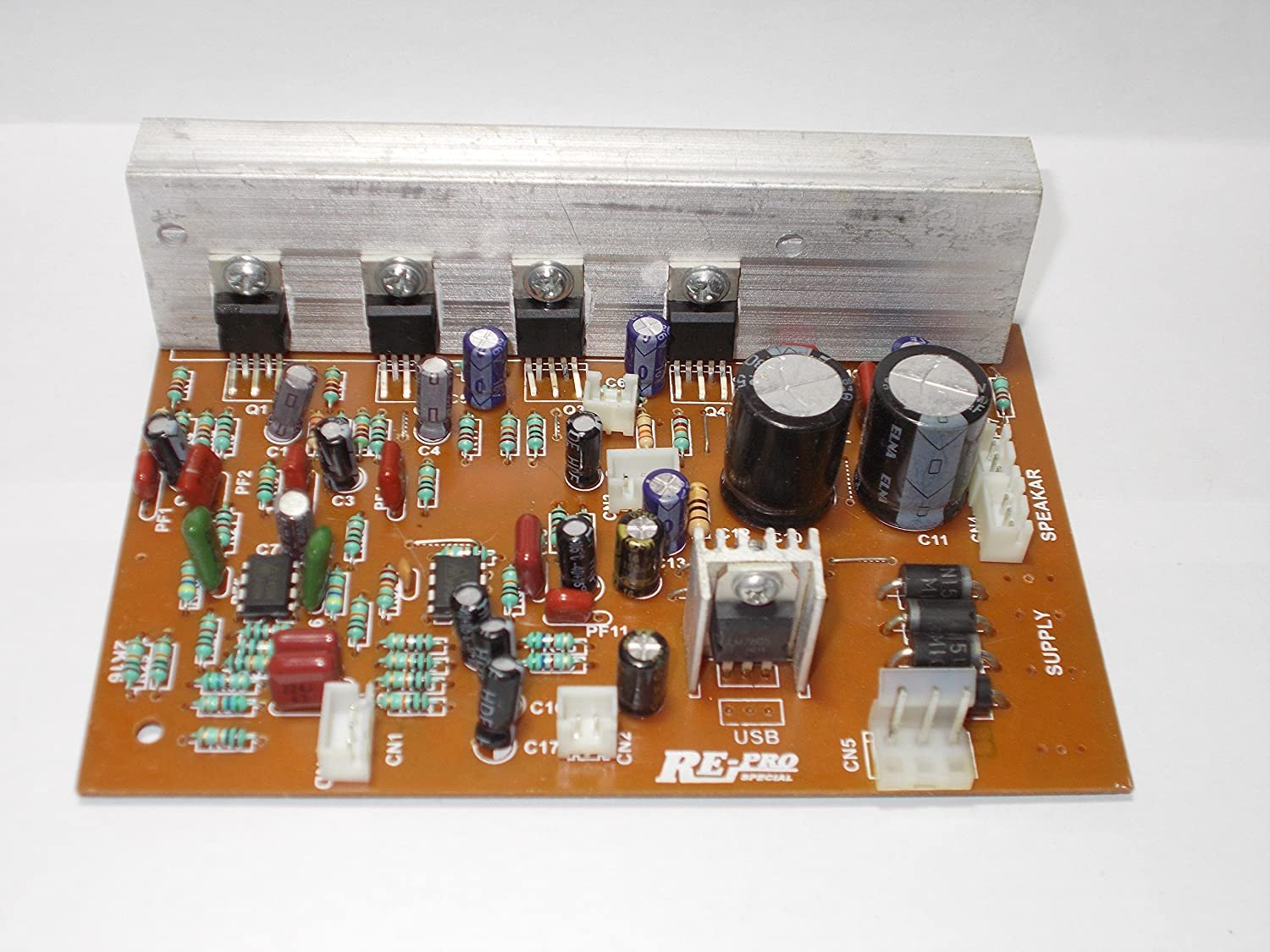 Audio Amplifier Using Ic Lm4780 Circuits T Stk 60w Circuit Kit Board Bass Treble 37 Out Of 5 Stars 9 43500 Soumik Electricals 41 Ch Home Theater