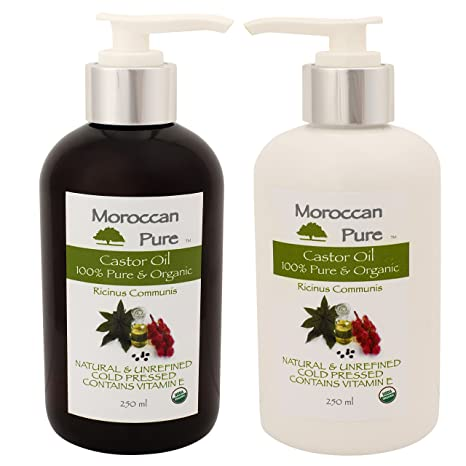 Puro Marroquí Orgánico Natural 100% aceite de ricino aceite ...