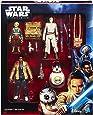 Hasbro Star Wars B6815EU0 - Episode 7 Takodana Encounter 3.75 Zoll Figuren 4er Set, Actionfiguren