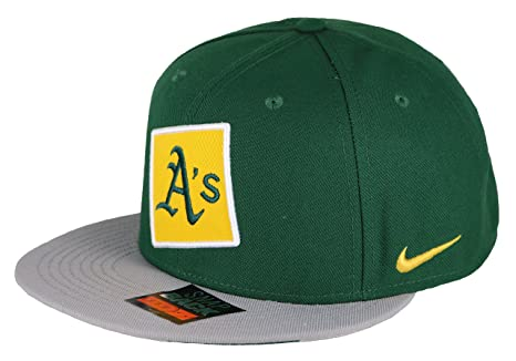 Image Unavailable. Image not available for. Color  Nike Men s Oakland A s  True City Just Do It Snapback Cap One Size Black Green 121531d33b57