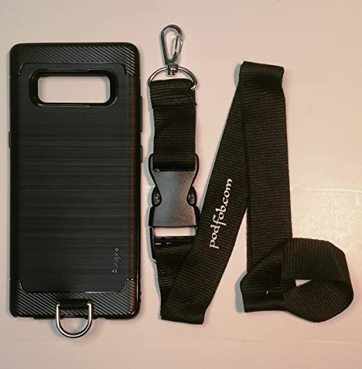 wholesale dealer 96c43 cab1f Samsung Galaxy Note 8 Nonslip Protective Case and Neck Lanyard