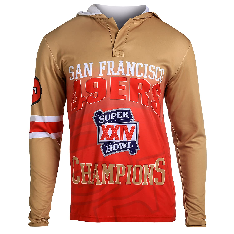 パーカーTシャツ NFL サンフランシスコ フォーティナイナーズ Super Bowl XXIV チャンピオン XL   B00ZIKZ38G