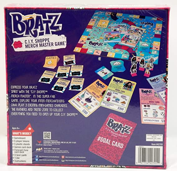 Bratz C.I.Y. Shoppe Merch Master Game
