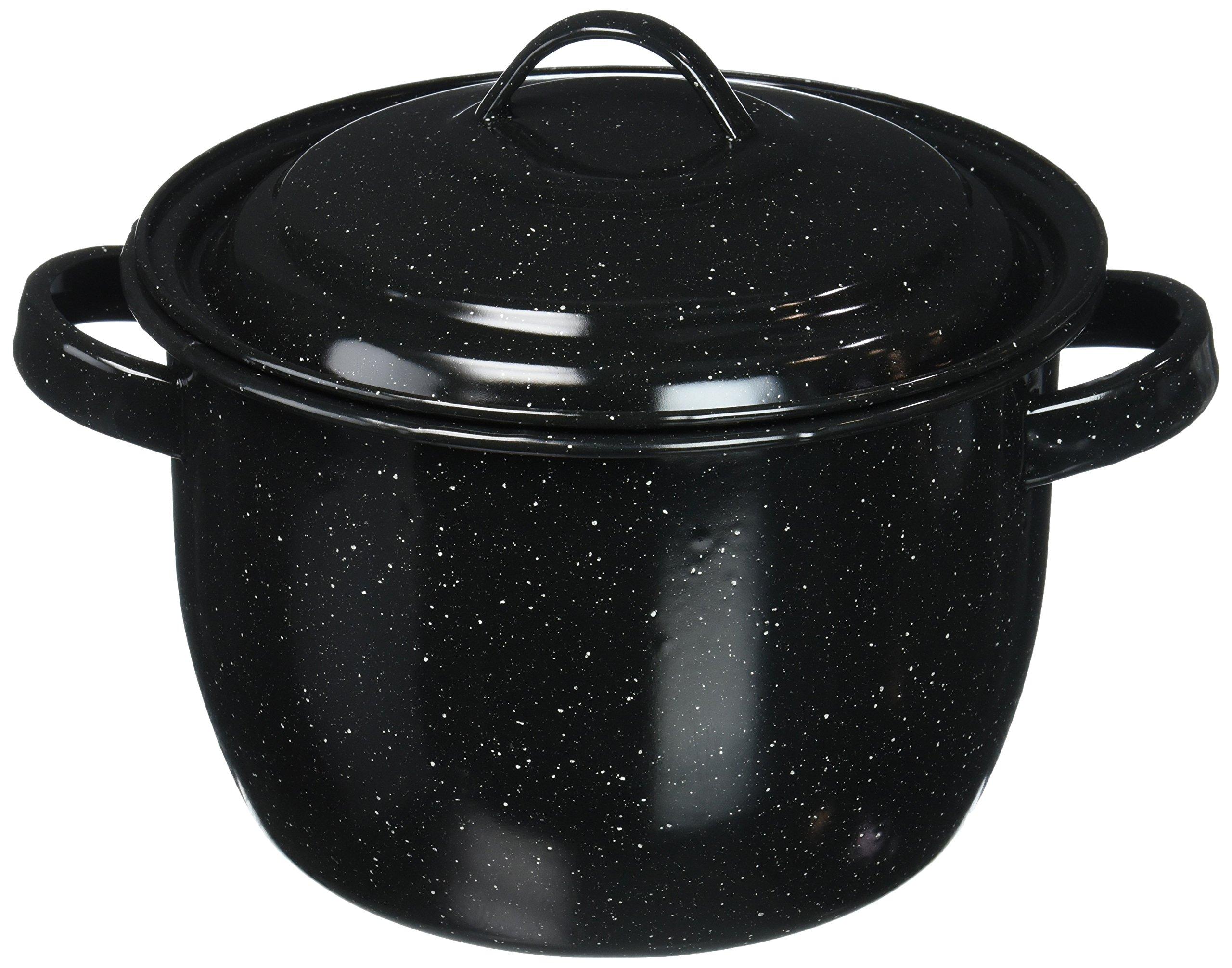 Granite Ware Bean Pot, 4-Quart