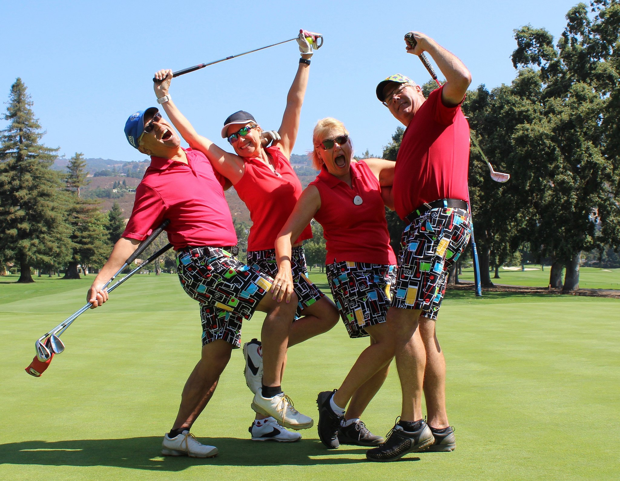 Loudmouth Golf Stars & Stripes StretchTech Women's Skort 08 by Loudmouth Golf (Image #4)