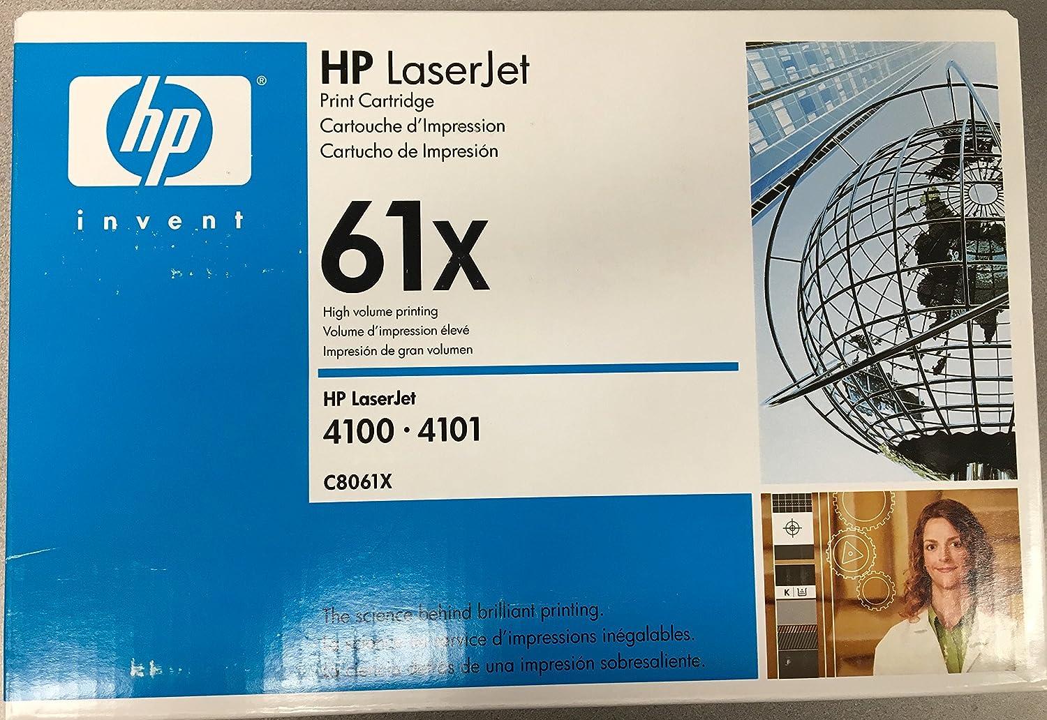 ヒューレットパッカード( HP ) hpc8061 X 61 X OEM LaserJet :ブラックyields 10 , 000ページ   B01K3CEXOS