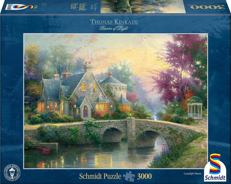Schmidt Spiele 57463 Lamplight Manor Puzzle 3000-Piece