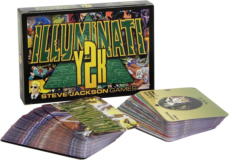 Amazon.com: Illuminati y2 K: Steve Jackson: Toys & Games