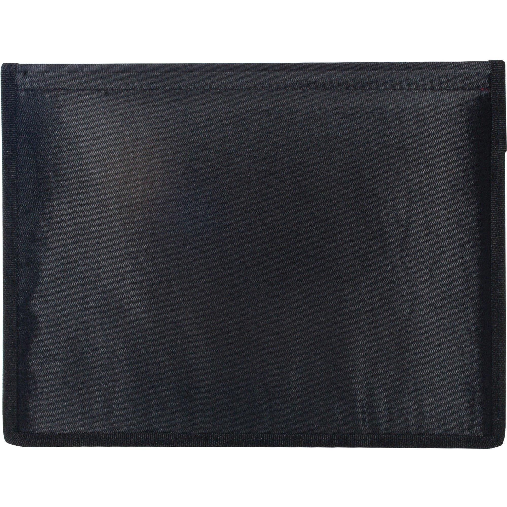 Robingift Anglers 204 Diploma/Certificate Holder 2 Pockets Vinyl 12''x9'' Black