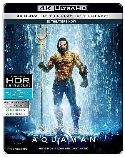 aquaman steelbook  : Buy Aquaman (Steelbook) (4K UHD + Blu-ray 3D + Blu-ray ...