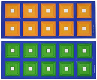 Didax Educational Resources Unifix Magnetic ten-frames 211037