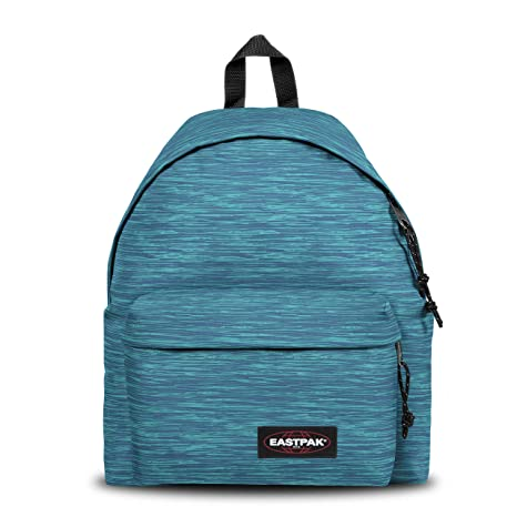 f52b157d10 Eastpak Pak'R Imbottito Zaino, Blu (Knit Blue): Amazon.it: Valigeria