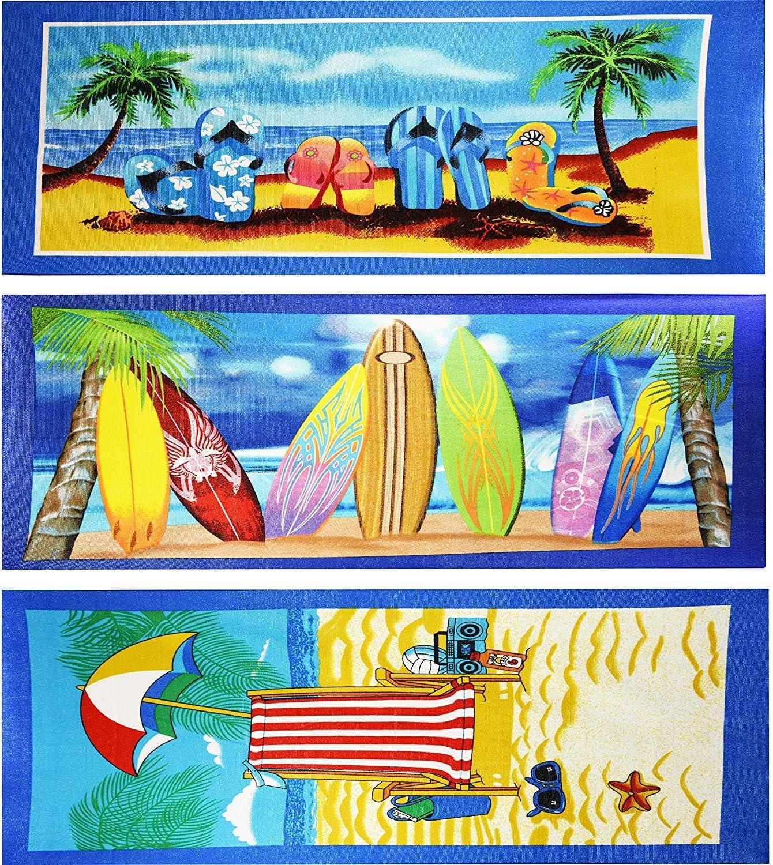 Toalla de playa de microfibra ligera para deportes gimnasio verano GEEZY viajes