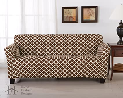 Form Fit, Slip Resistant, Stylish Furniture Cover / Protector Featuring  Lightweight Stretch Twill Fabric
