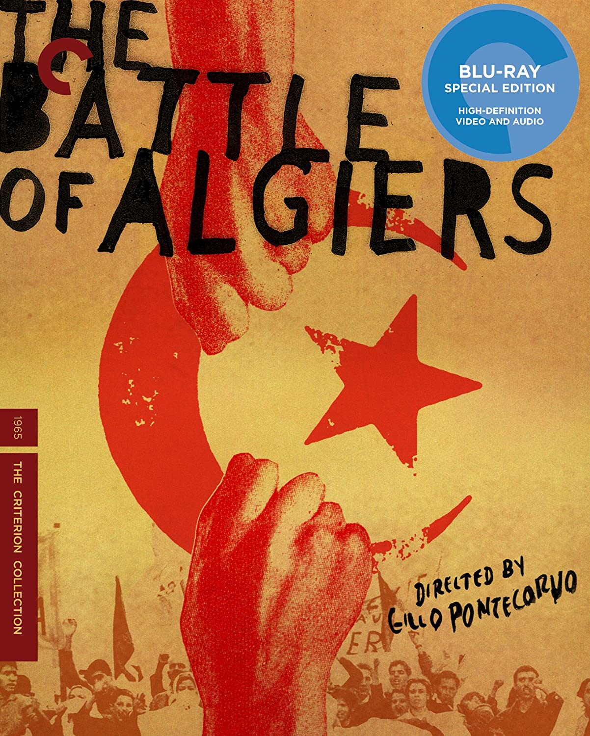 La Bataille d'Alger = The Battle of Algiers DVD Cover