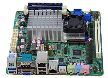 Amazon.com: Jetway NF99FL-525 DualGigabit Lan Mini-ITX Motherboard