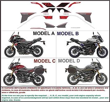 Kit Adesivi Decal Stikers Yamaha Tracer Mt 09 Fj 09