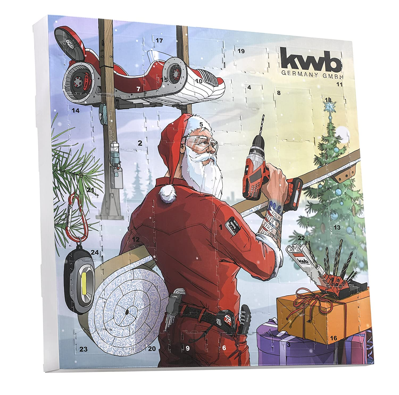 KWB 3701172017Limited Edition (24Door Advent Calendar with High-Quality Tool, including Bag, Desktop Calendar)