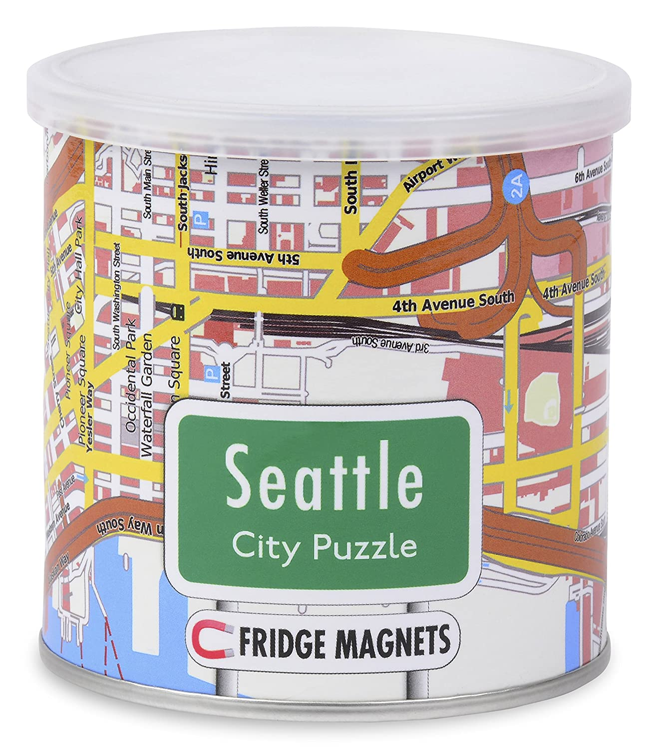 Amazon City Magnetic Puzzle Seattle Toys & Games