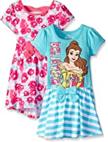 Disney Girls' 2 Pack Beauty and the Beast Belle Dresses
