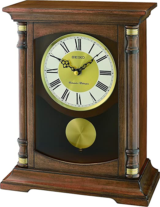 LUXURY DUAL TIME ZONE CARRIAGE MANTEL CLOCK High Quality Special Gift ENGRAVED
