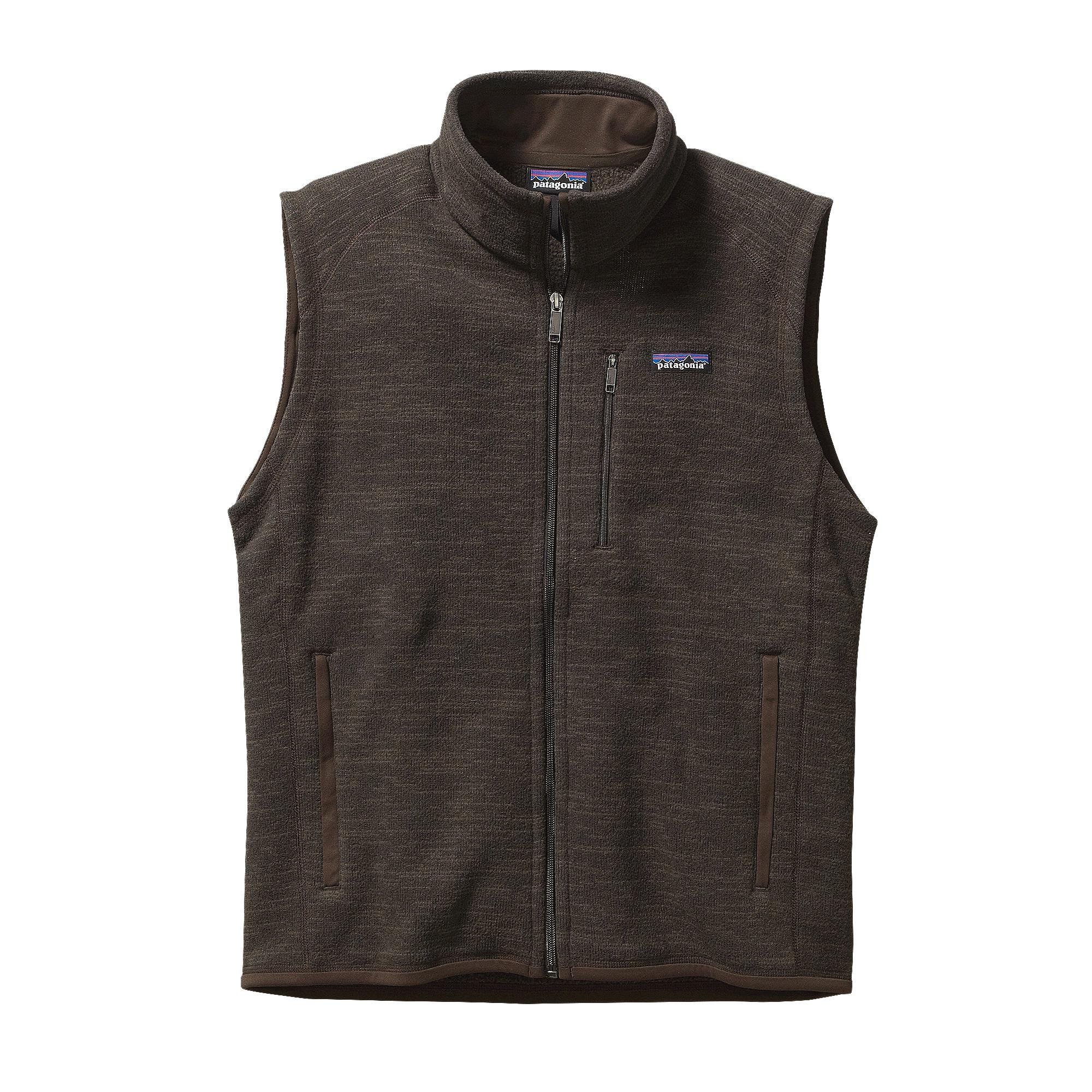 Patagonia Men Better Sweater Vest Dark Walnut 25881/DWA - Size Small by Patagonia