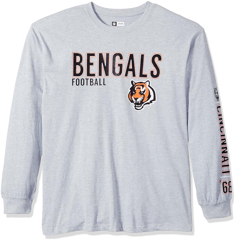 人気を誇る NFLシンシナティベンガルズユニセックス長袖2ヒットTシャツ、ヘザーグレー、2 x/トール x/トール B01E7FL53E B01E7FL53E, ハトガヤシ:73489209 --- a0267596.xsph.ru