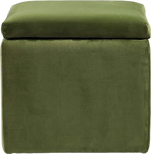 Furniture HotSpot Tarzly Upholstered Storage Ottoman