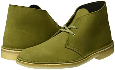 Desert Boot: Evergreen Suede