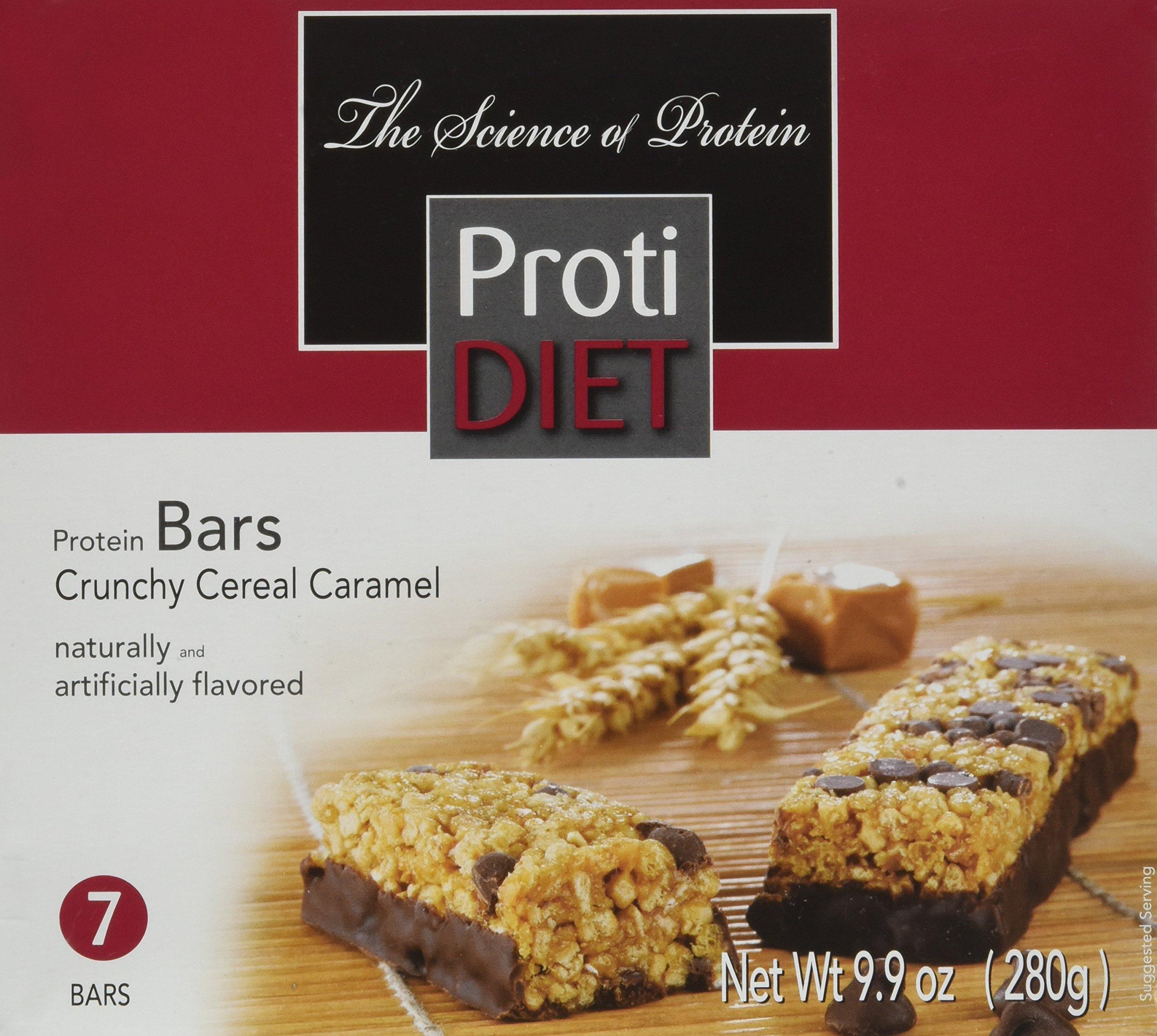 Amazon Com Protidiet Peanut Surprise High Protein Bar 9 9 Oz Box